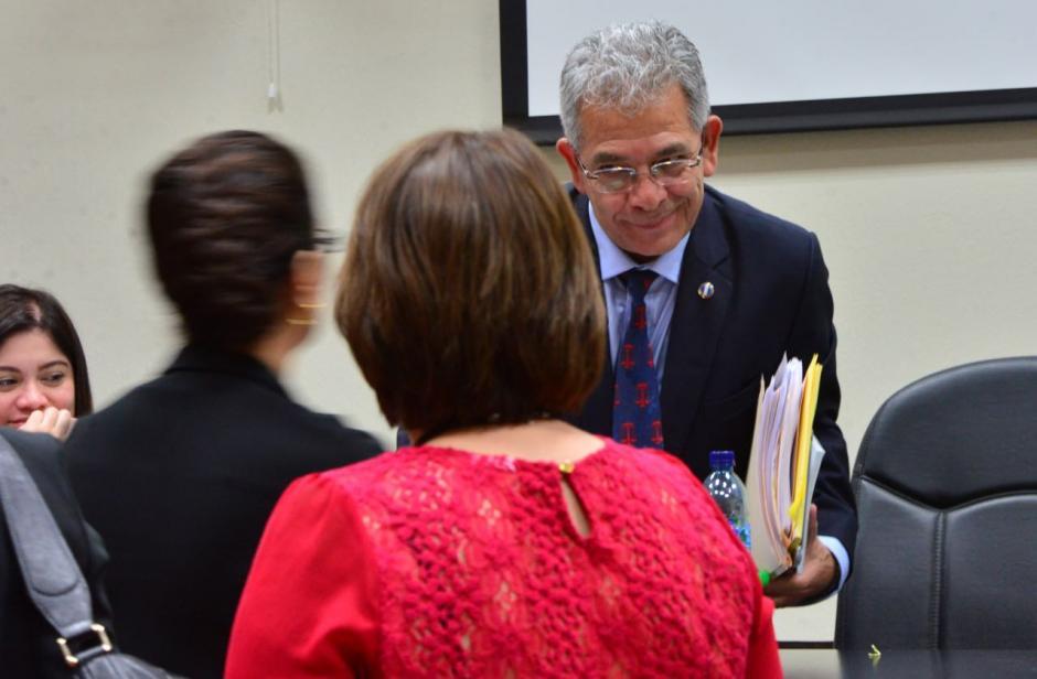 La defensa de Otto Pérez presentó una queja contra el juez Gálvez, la cual fue aceptada. (Foto: Jesús Alfonso/Soy502)