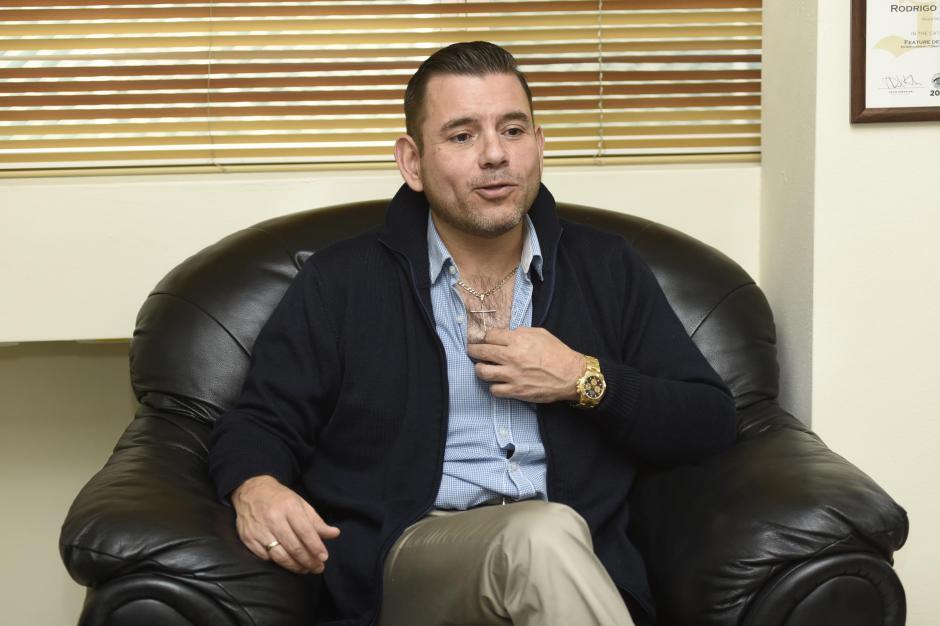 Baldizón dijo que no le gusta retroceder a las Elecciones Generales de 2015 porque le trae malos recuerdos. (Foto: Nuestro Diario)
