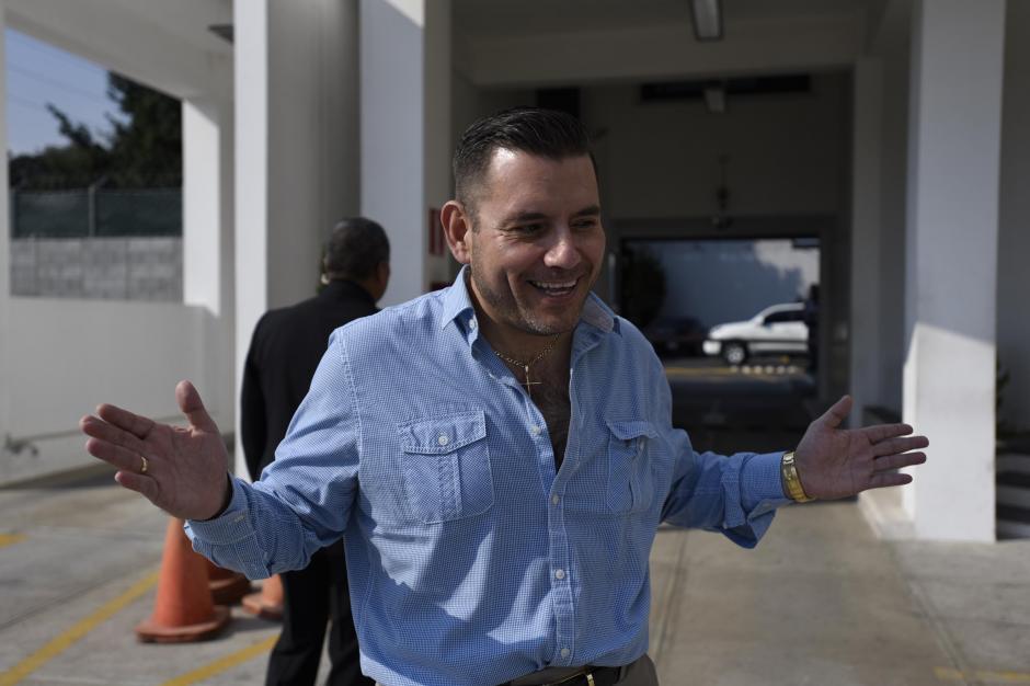 Manuel Baldizón reapareció y ofreció una entrevista donde habló de su futuro, lejos de la política. (Foto: Nuestro Diario)