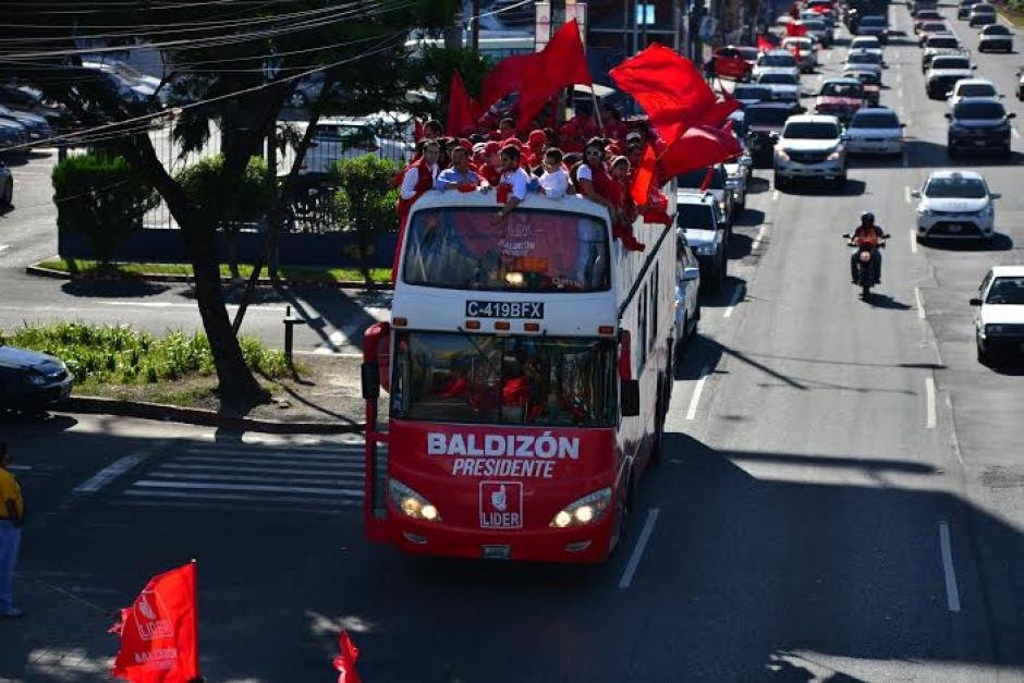 El bus circula en varias zonas de la capital de Guatemala. (Foto: Wilder López/Soy502)