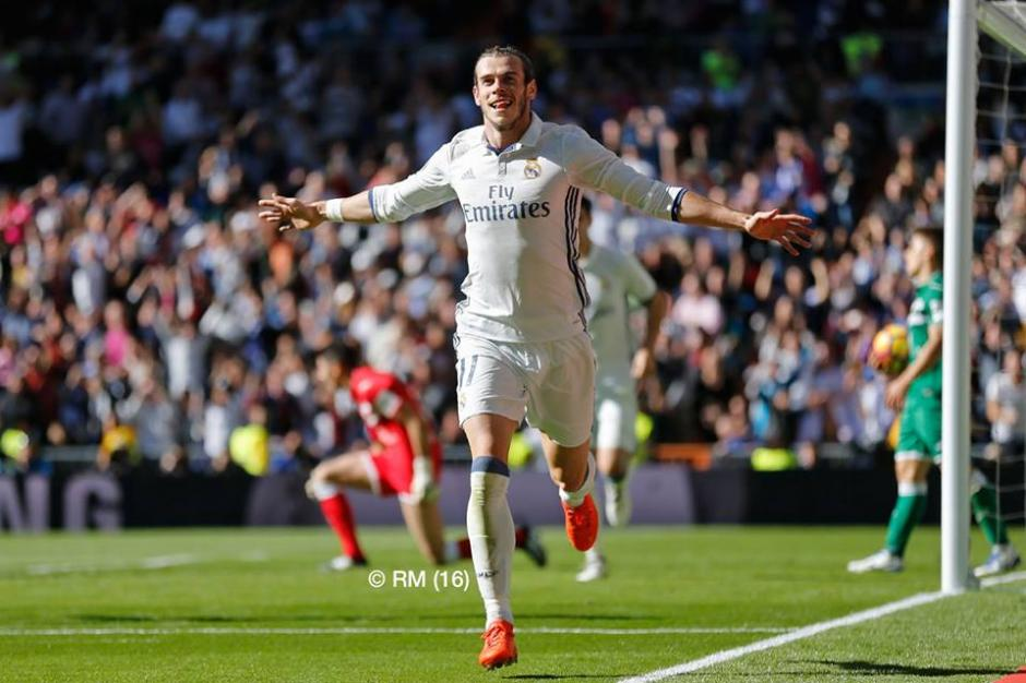Gareth Bale le dio brillo al Real Madrid frente al Leganés. (Foto: Facebook/Real Madrid)