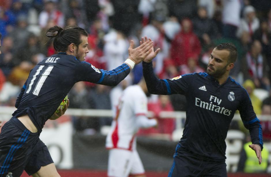 Bala anotó el descuento 2-1 para el Madrid y el 2-3 definitivo para la victoria merengue. (Foto: AFP)