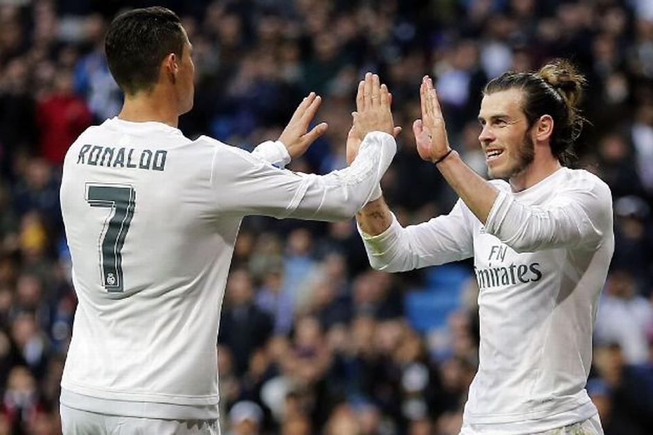 El delantero galés Gareth Bale quiere ganar lo mismo que Cristiano Ronaldo. (Foto: AFP)