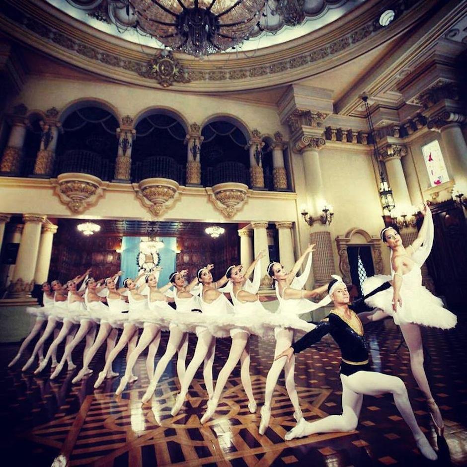 El ballet Guatemala inicia su temporada oficial. (Foto: Ministerio de Cultura y Deportes)
