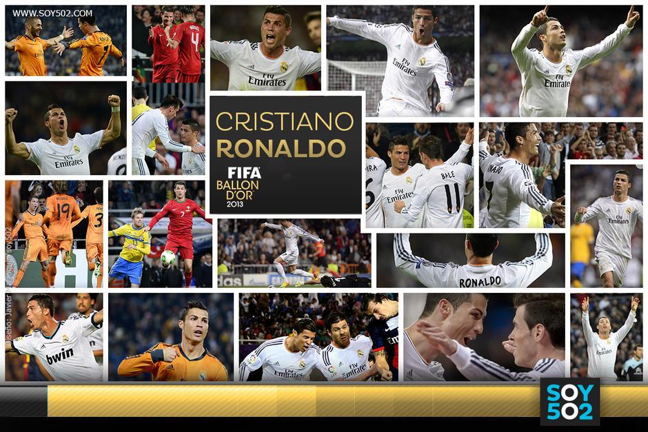 Cristiano Ronaldo anotó 69 goles en 2013, rompiendo su récord histórico anual