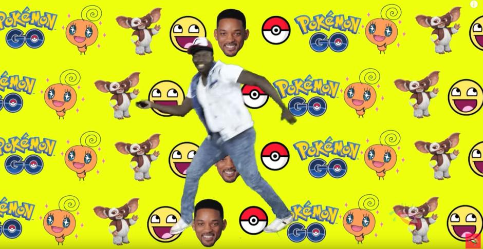 El rapero Banana Nut le dedicó un rap al juego Pokémon Go. (Captura de pantalla: Udisea/YouTube)