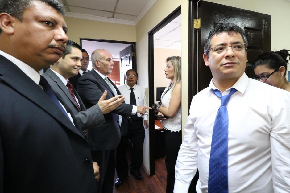 Orellana ocupó la oficina sin consultar. (Foto: Agencia de Información Pública)