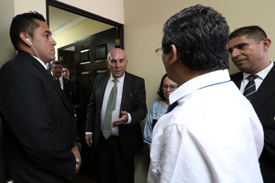 El diputado de Alianza al final desocupó la oficina y esta será reasignada. (Foto: Agencia de Información Pública)