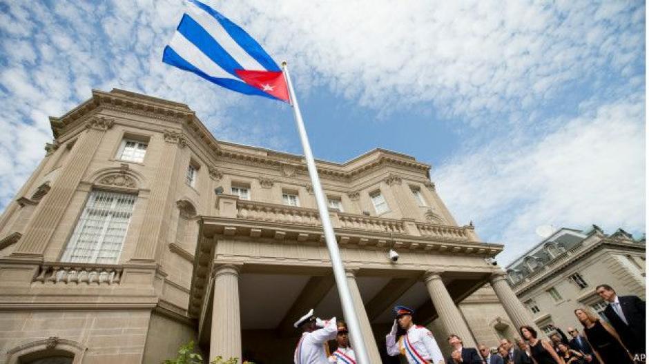 El edificio, ubicado en el número 2630 de la Calle 16, fue inaugurado como sede diplomática cubana en 1917. (Foto: BBC)