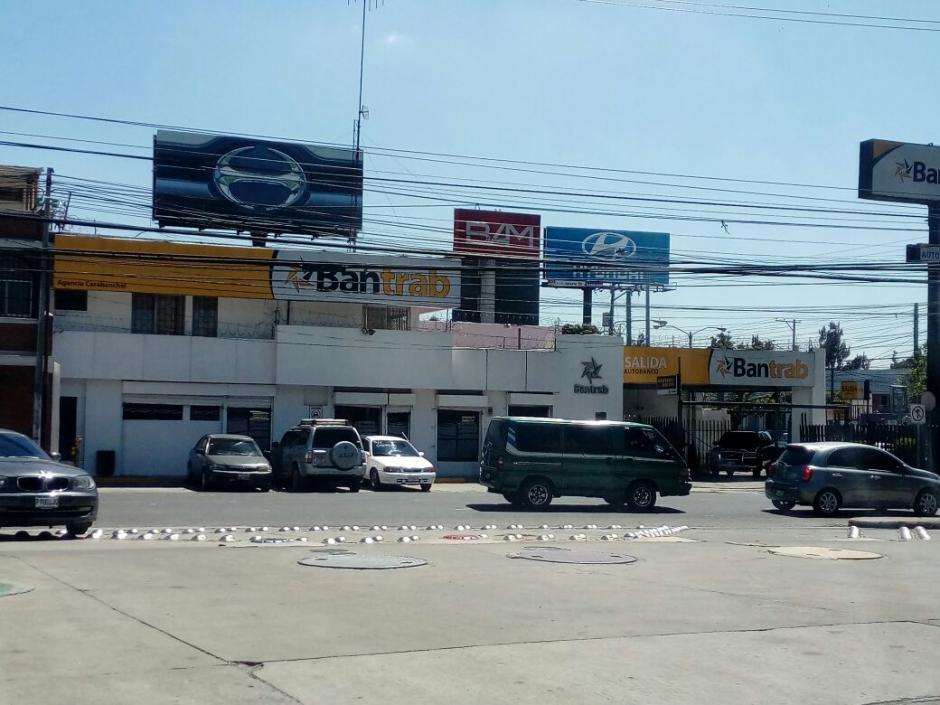 Bantrab afirma que sus operaciones continúan normales. (Foto Alejandro Balán/Soy502)