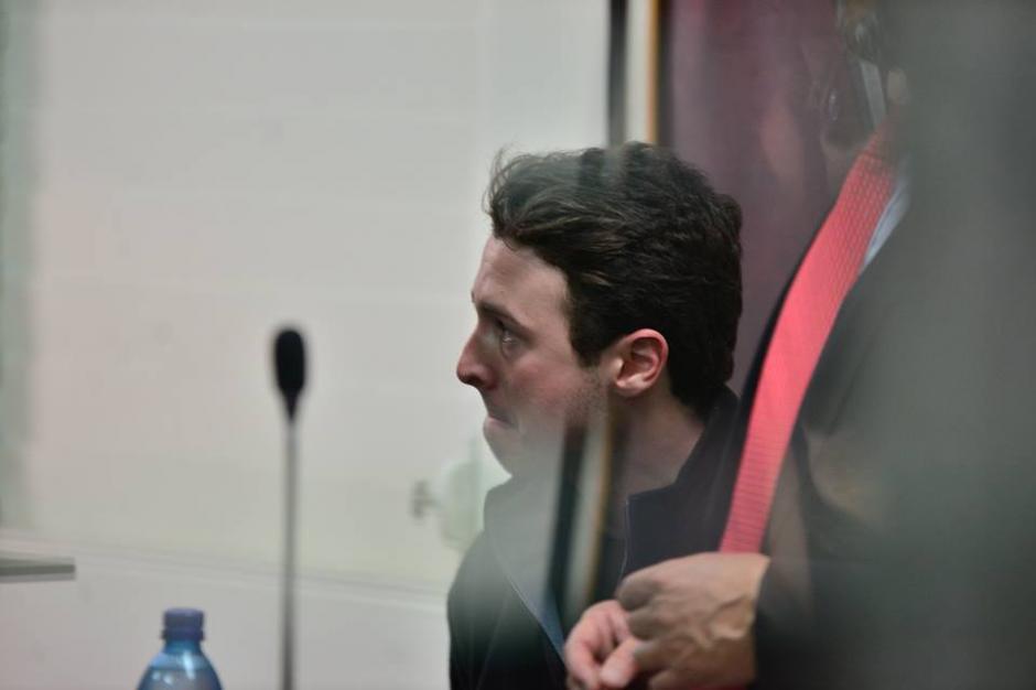 El joven fue capturado el jueves en su residencia y cuenta con un grupo de cinco abogados. (Foto: Wilder López/Soy502)