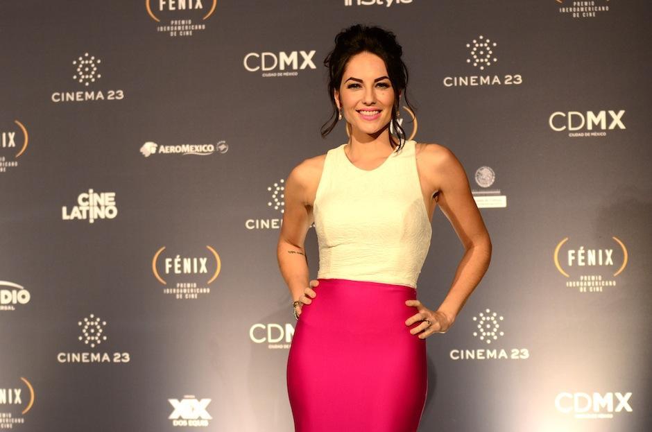 La actriz Bárbara Mori robó suspiros en la gala de los Premios Fénix. (Foto: Selene Mejía/Soy502)