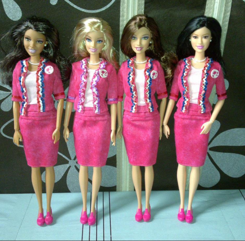 Esta fue la edición de Barbie presidente de 2012. (Foto: papusilemele.com)