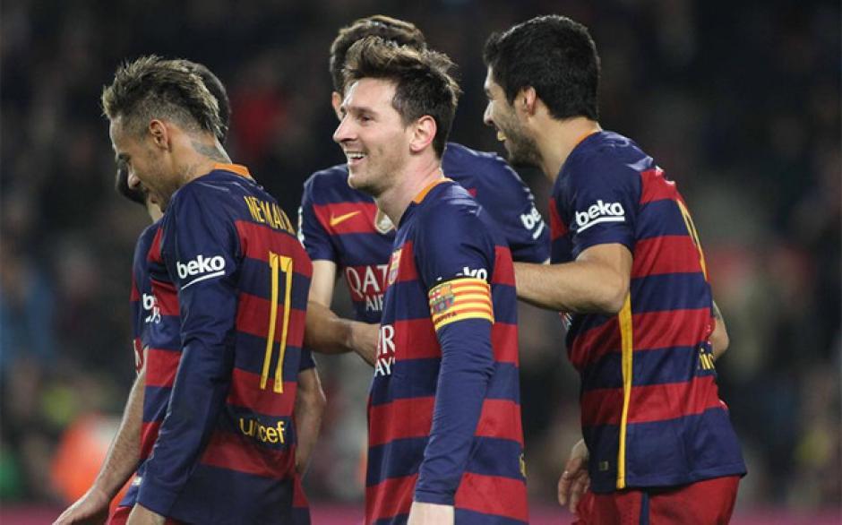 El Barcelona está virtualmente clasificado a la final de la Copa del Rey. (Foto: EFE)