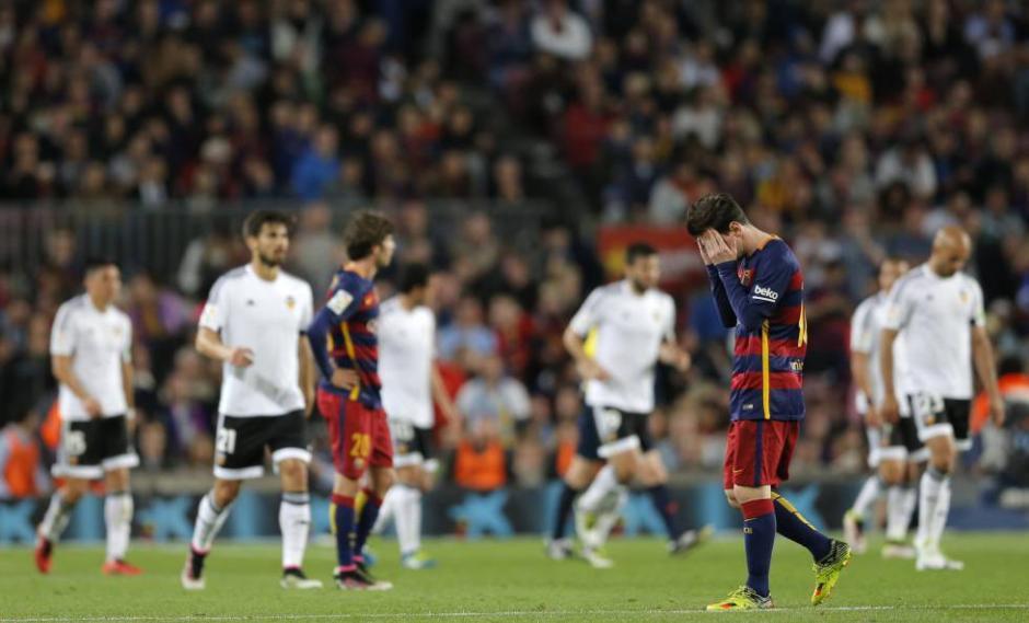 Las cargas del equipo culé fueron evidentes. (Foto: deportes.elpais.com)