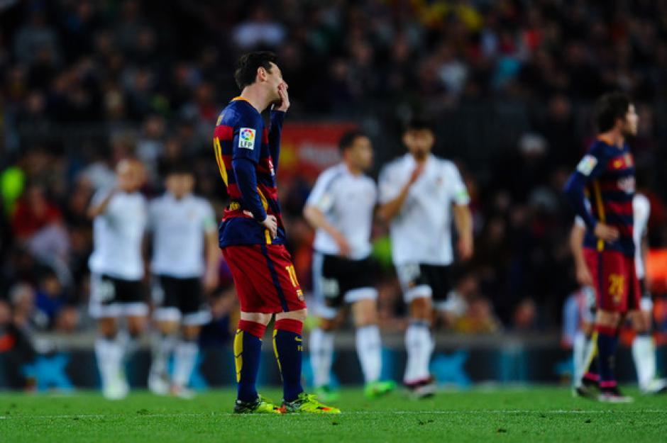 Messi volvió a marcar, ya sumaba más de 500 minutos sin hacerlo. (Foto: lavanguardia.com)