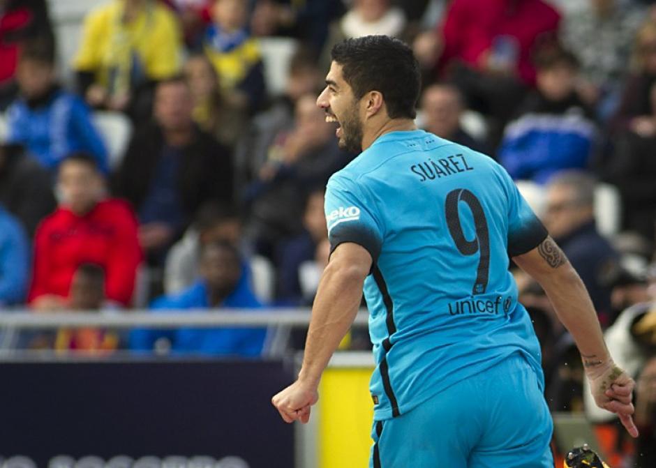 Suárez abrió el marcador frente a Las Palmas. (Foto: AFP)