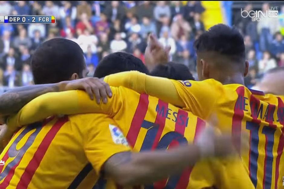 Luis Suárez marcó cuatro de los ocho goles de Barceloona. (Foto: Getty)