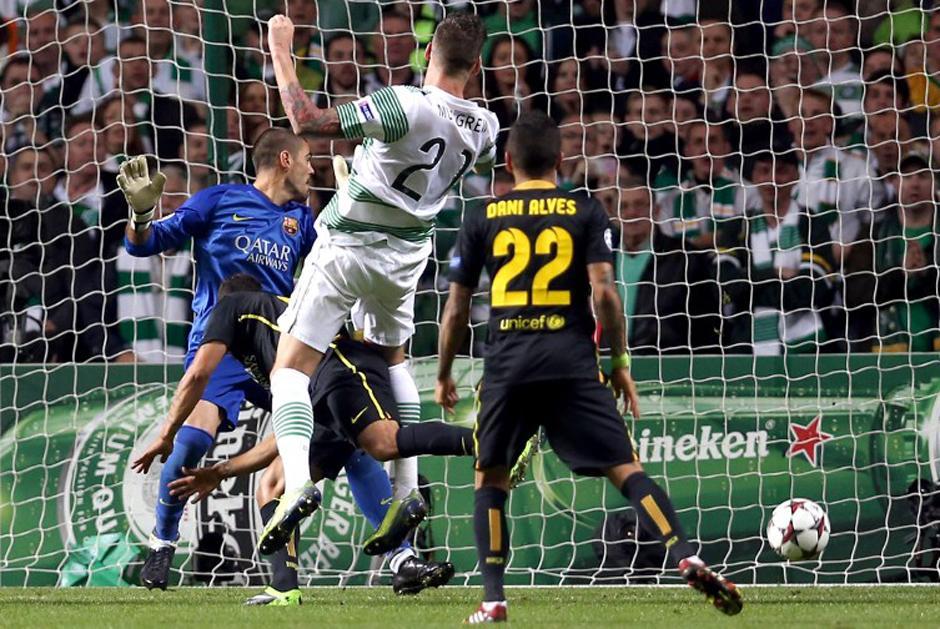 El Barcelona superó al Celtic. (AFP)