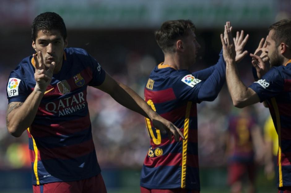 Barcelona se quedó con el título de la Liga española en la última jornada. (Foto: AFP)