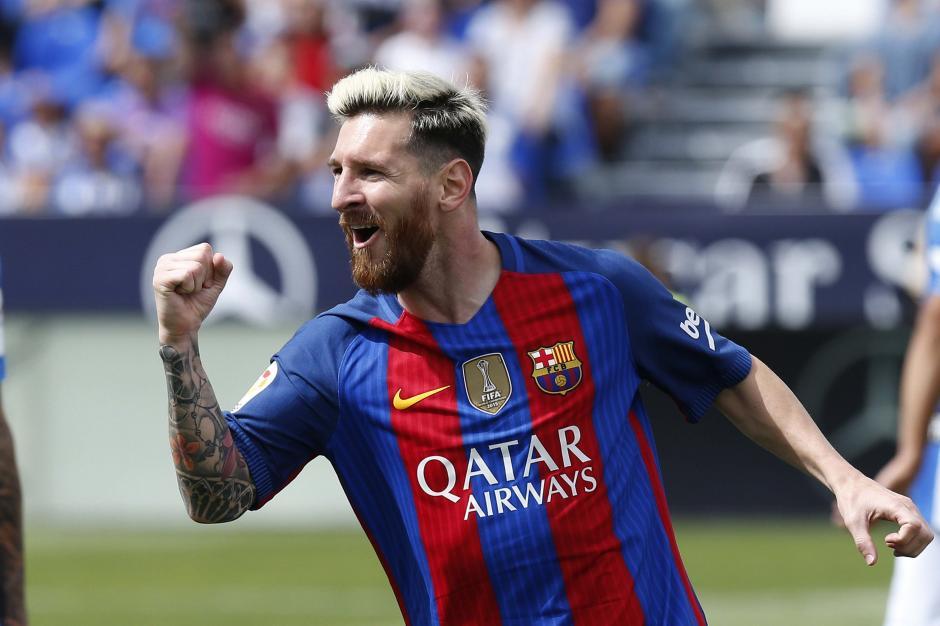 Messi festejó en doble ocasión. (Foto: EFE)