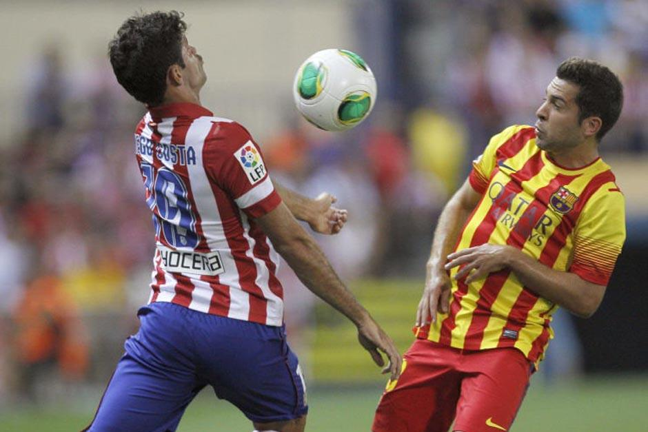 El Barcelona y el Atlético de Madrid suman 46 puntos cada uno luego de 17 jornadas