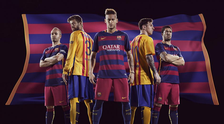 EL FC Barcelona y Nike firman histórico y millonario contrato hasta 2026.  (Foto  6e3aafb1dc1