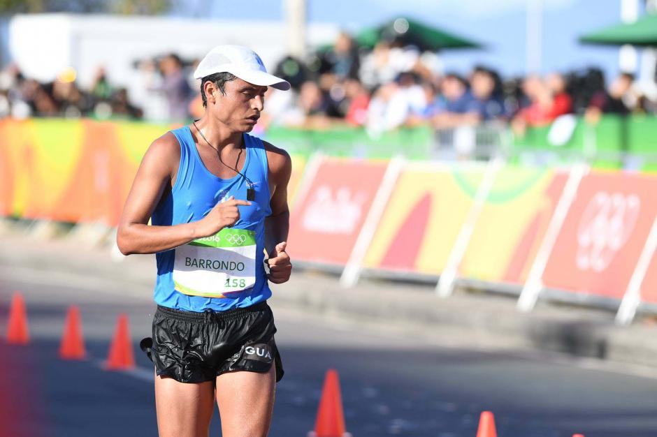 Erick Barrondo se fue de Río 2016, solo con presencia en la prueba de 20 kilómetros. (Foto: Aldo Martínez/Nuestro Diario)