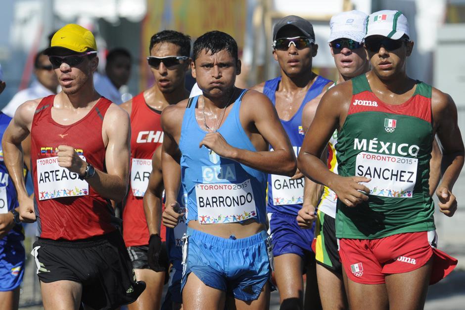 Erick Barrondo fue medallista de oro en Guadalajara 2011.