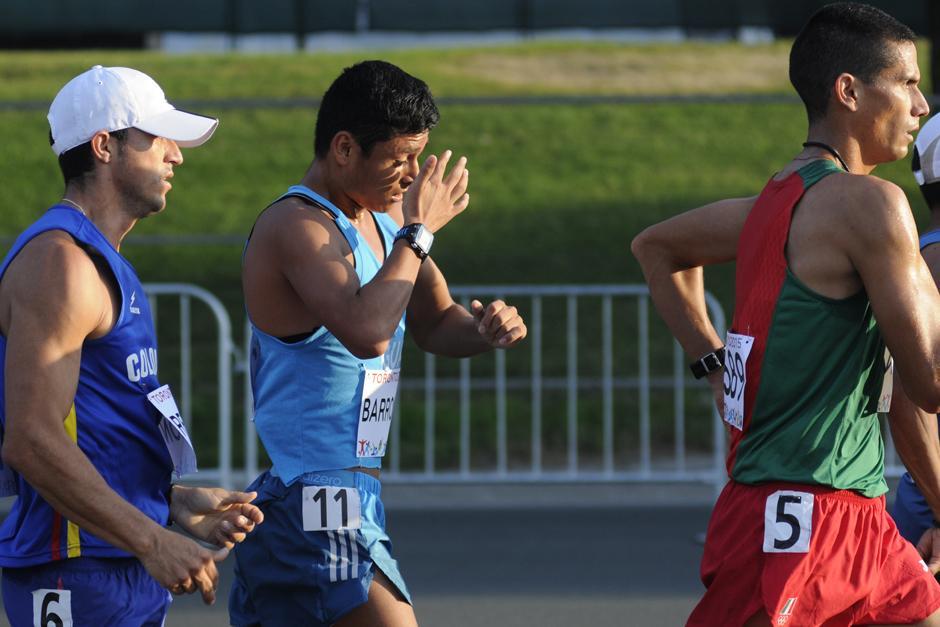 Barrondo ya había hecho su debut en Toronto 2015 en la prueba de 20 kilómetros de marcha, donde fue expulsado a menos de un kilómetro de la meta. (Foto: Pedro Mijangos/Soy502)