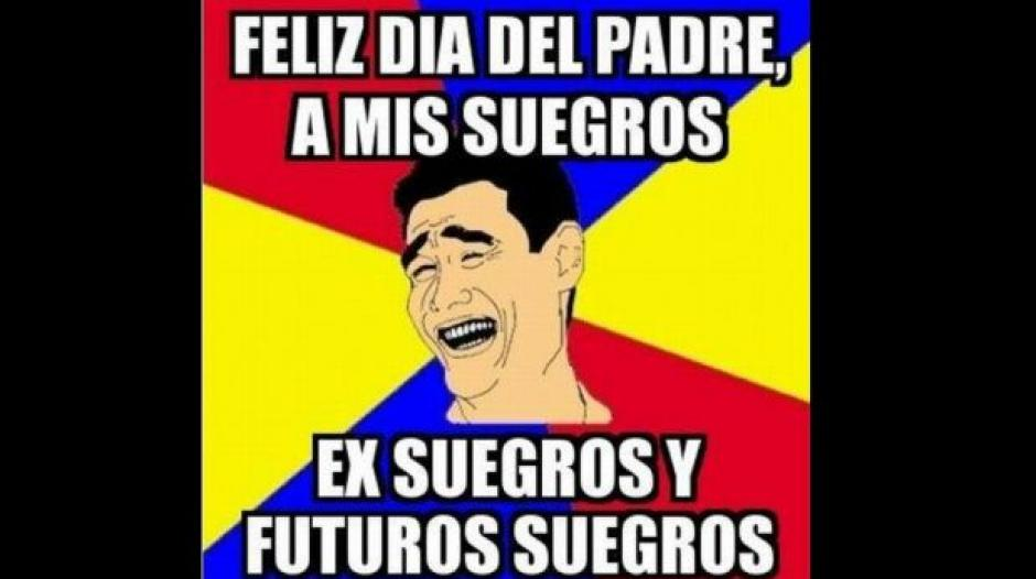 """Los """"chicos populares"""" festejan de esta manera el Día del Padre. (Foto: Twitter)"""