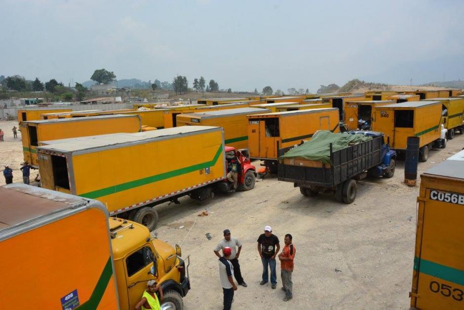 Guatemala está trasladando temporalmente parte de sus desechos al vertedero de Villanueva. (Foto: Facebook/Muni Villanueva)