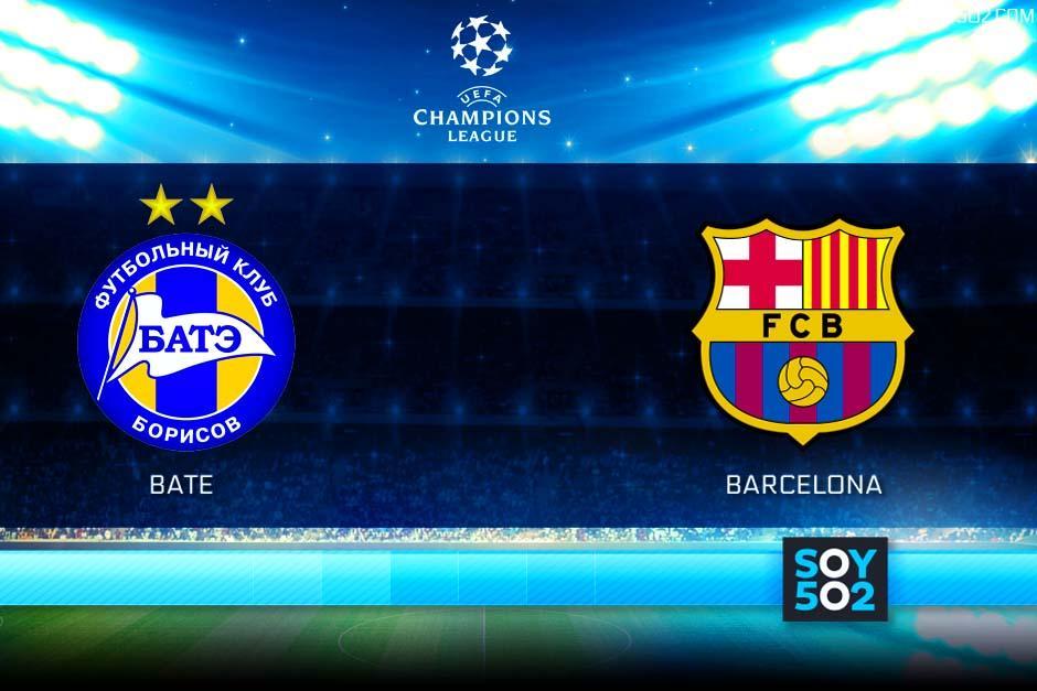El Barcelona visita al Bate por la UEFA Champions League