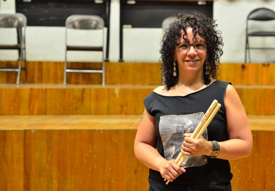 LaFrae forma parte del grupo Eli Yamin Jazz Quartet. (Foto: Selene Mejía/Soy502)