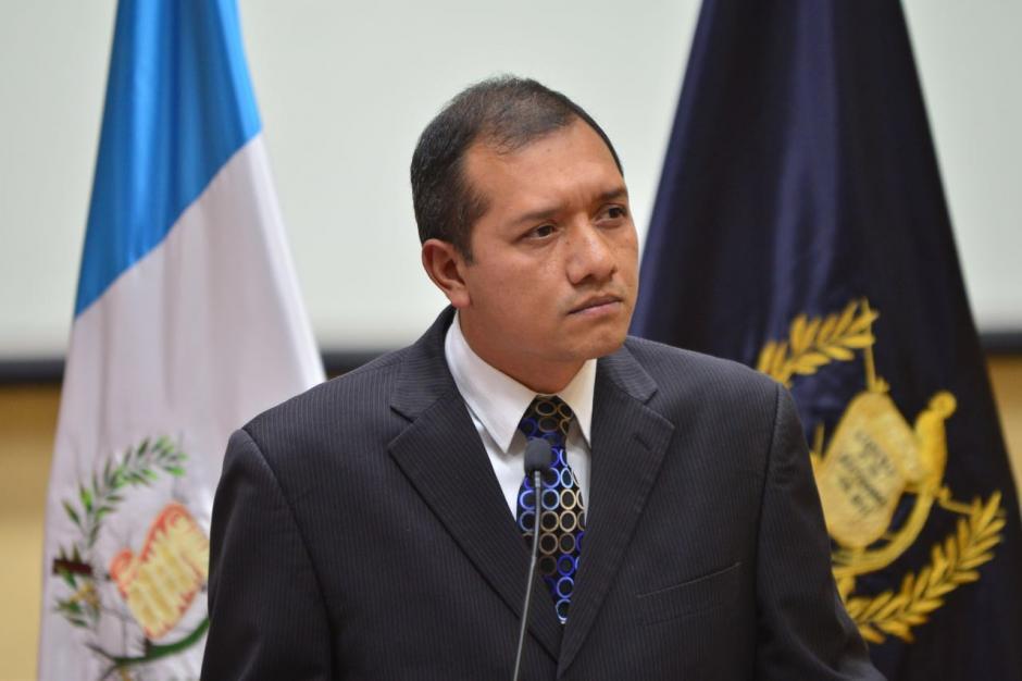Francisco Rivas, ministro de Gobernación, ofreció detalles sobre la muerte de Byron Lima. (Foto: Jesús Alfonso/Soy502)
