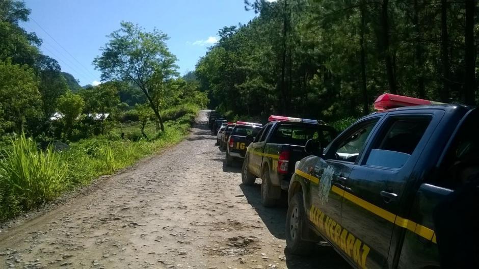 El conflicto inició porque según los pobladores el Conap no les otorgaba el 30% correspondiente a las comunidades. (Foto: PNC)