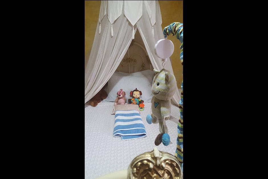La cama vacía del pequeño Ethan de 7 meses. (Foto: Facebook)