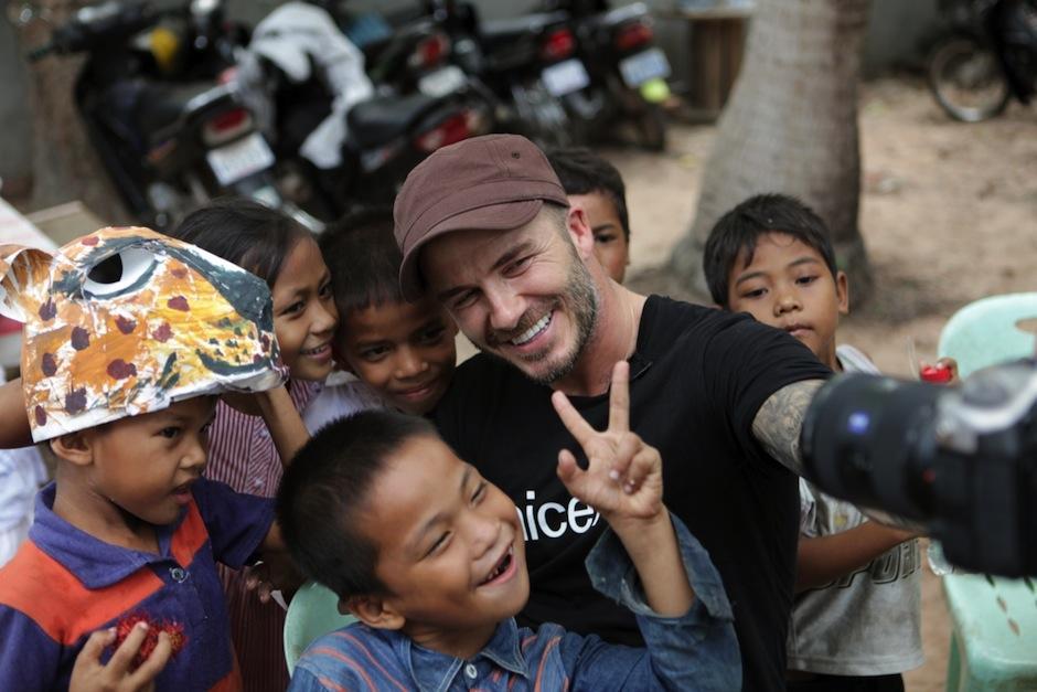 A pesar de un largo contrato Beckham no ha cumplido sus visitas y compromisos. (Foto: Newsweek)