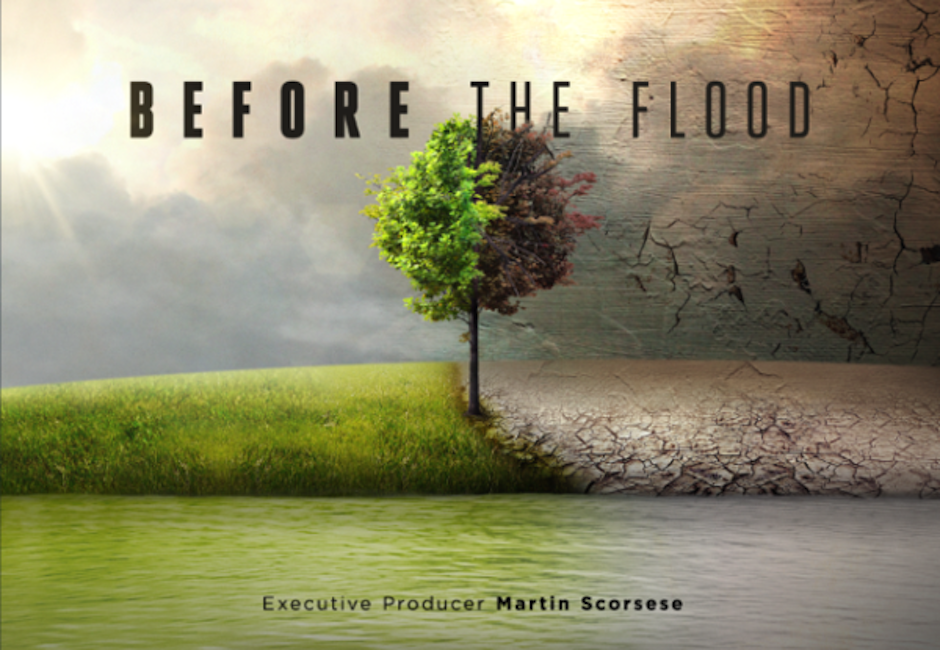 Todo en nombre de la tierra. (Foto: Before the flood)