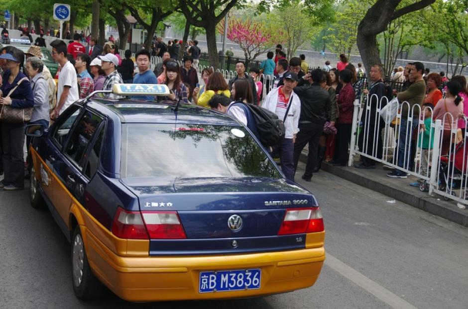 historia de taxi china