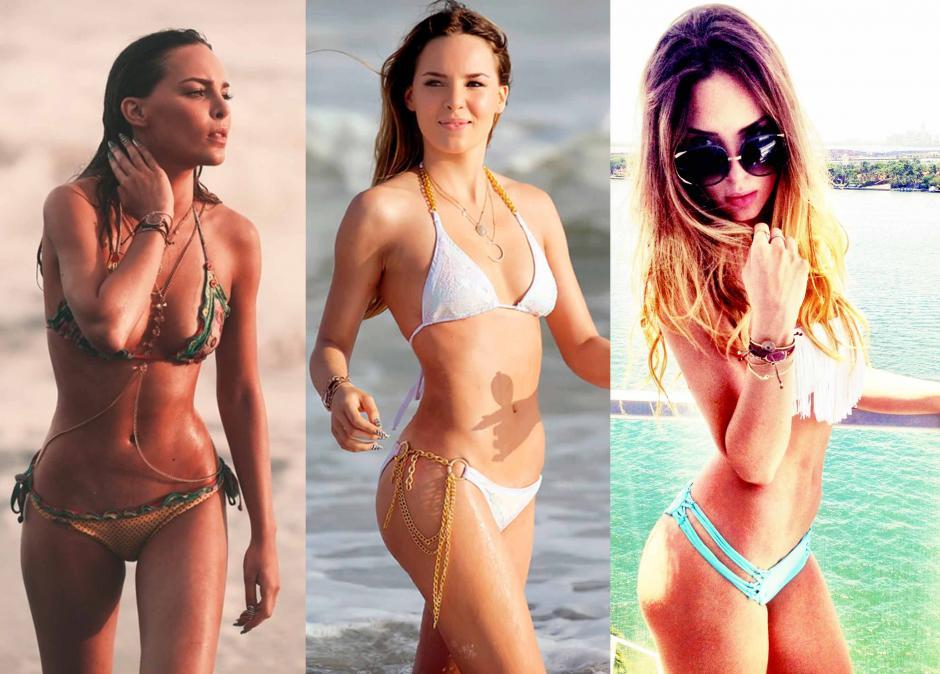 En la playa y en bikini es donde más resalta el espectacular cuerpo de Belinda. (Foto: Instagram/Belinda)