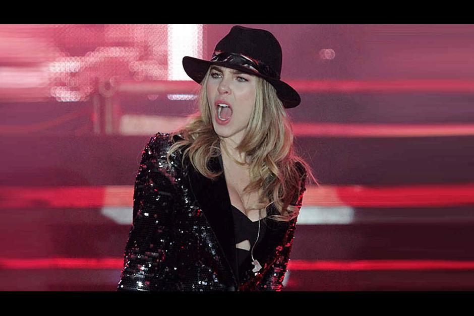 Belinda causa controversia por decirle a fanática que saliera de su concierto. (Foto: Archivo/Soy502)
