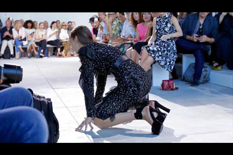 Hadid es una de las figuras más ascendentes del mundo de la moda. (Foto: AFP)