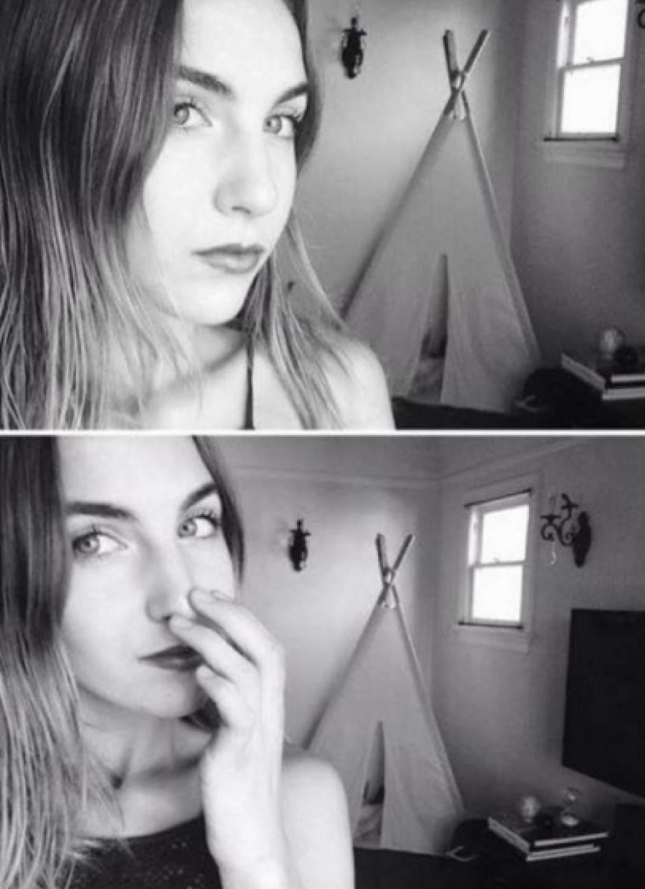 Bella es fanática de las selfies. (Foto: Instagram)