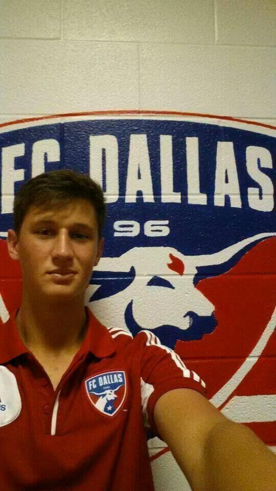 Hagen pasó una etapa de formación en el Dallas FC de MLS. (Foto: Twitter)