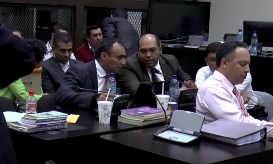 El abogado Benjamín Estrada también formó parte de la defensa de Byron Lima Oliva. (Foto: Captura de YouTube)