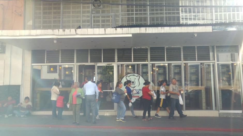 La panadería de momento sigue funcionando. (Foto: Cortesía/María José Pérez)