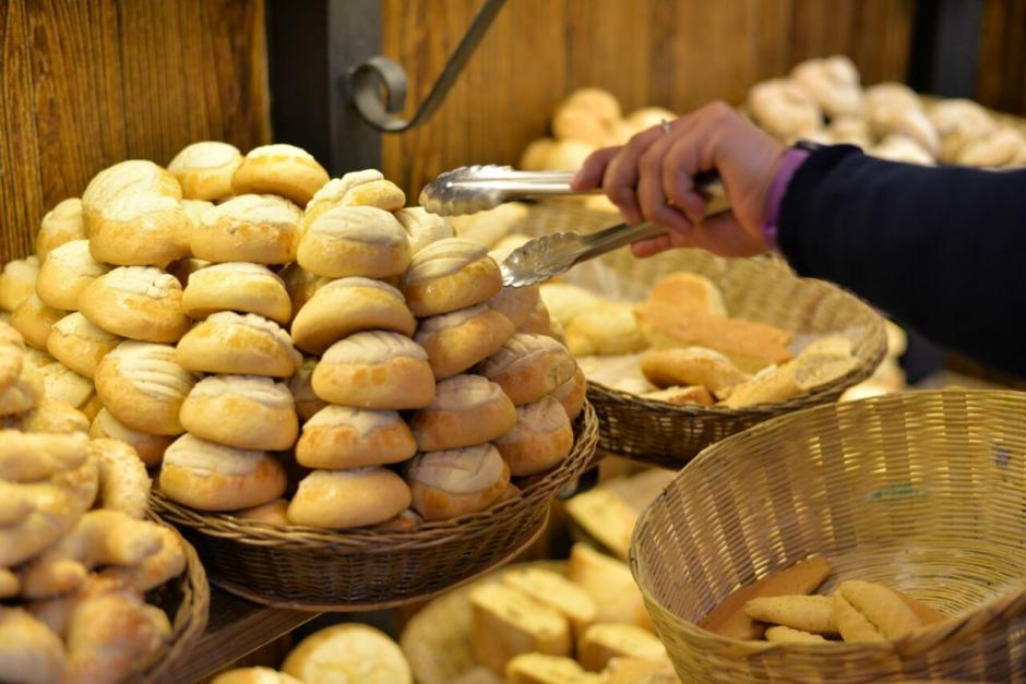 El pan de manteca es cotizado durante las tardes y noches. (Foto: Wilder López/Soy502)