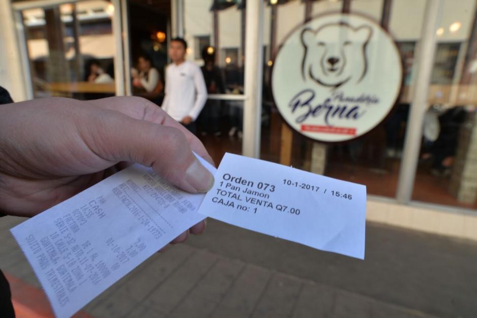 Se comprobó en la actualidad sí emiten facturas. (Foto: Wilder López/Soy502)