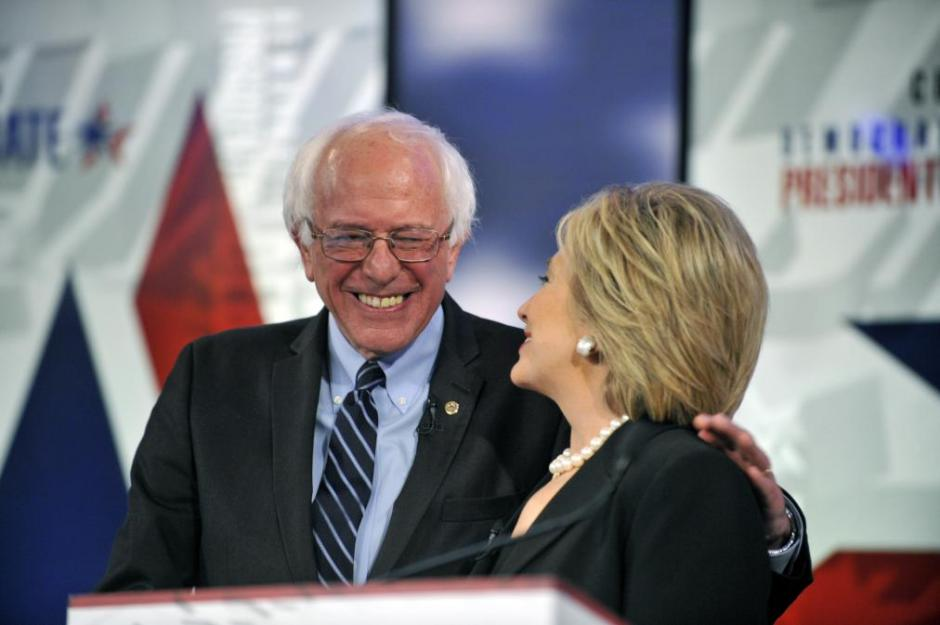 El debate fue televisado y además asistieron invitados. (Foto: EFE)